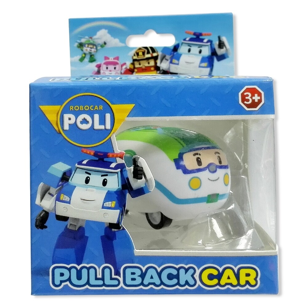 Alphakid Robocar Poli - รถพลูแบ็คโรโบคาร์โพลิคละแบบ.