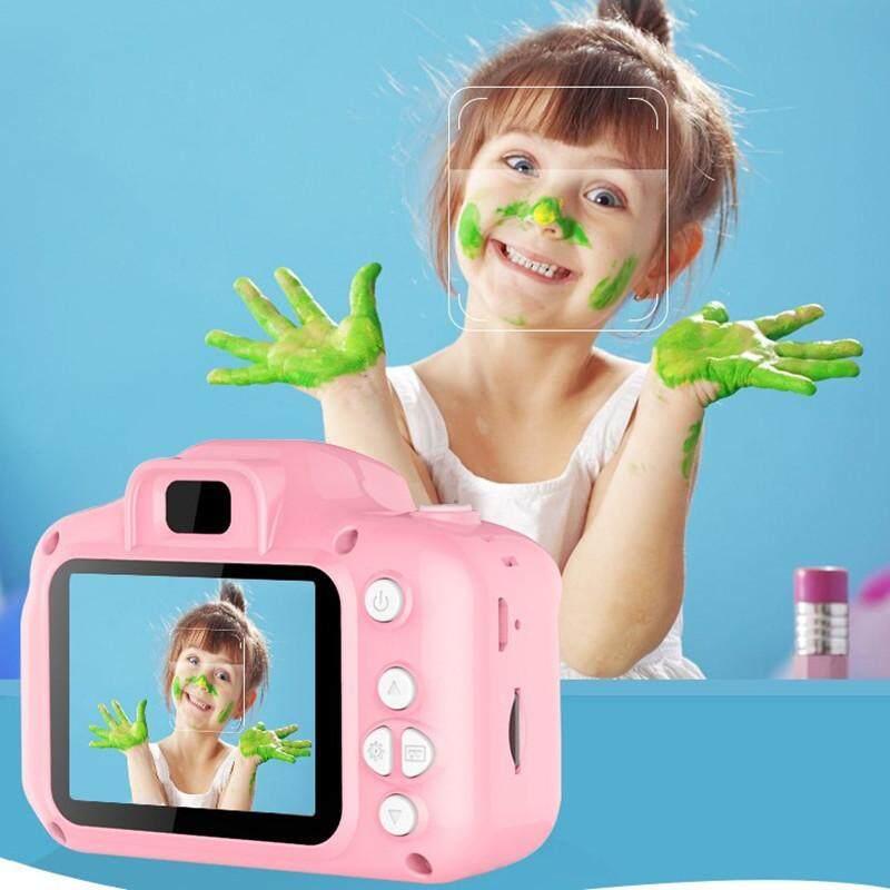 2.0 นิ้วเด็กดิจิตอล Camera กล้องมินิดิจิตอล Camera สำหรับเด็กทารกน่ารักการ์ตูนมัลติฟังก์ชั่กล้องของเล่นเด็กวันเกิดที่ดีที่สุดของขวัญใช้งานง่าย.