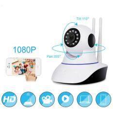 กล้องวงจรปิดไร้สาย กล้องวิดีโอเฝ้าระวัง เบบี้มอนิเตอร์360องศา 1080Pกล้อง 360 Degree Wi-fi IP Camera FishEye HD 1080PSmart Wireless IP Fisheye Camera Security Wifi Camerawith night vision cctv 1920 * 1080 baby monitor.