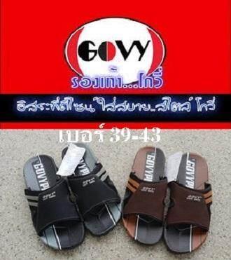 โกวี่ รองเท้าแตะชาย โกวี่ GOVY รุ่น MK 1034