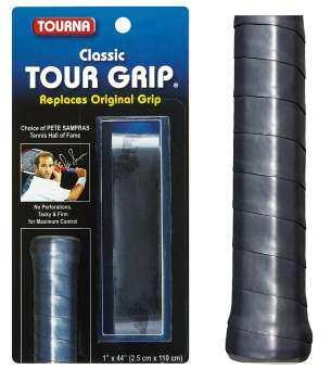 REPLACEMENT GRIP TOURNA CLASSICTOUR GRIP TM- Black- 1.8 mm thick 1 ea.