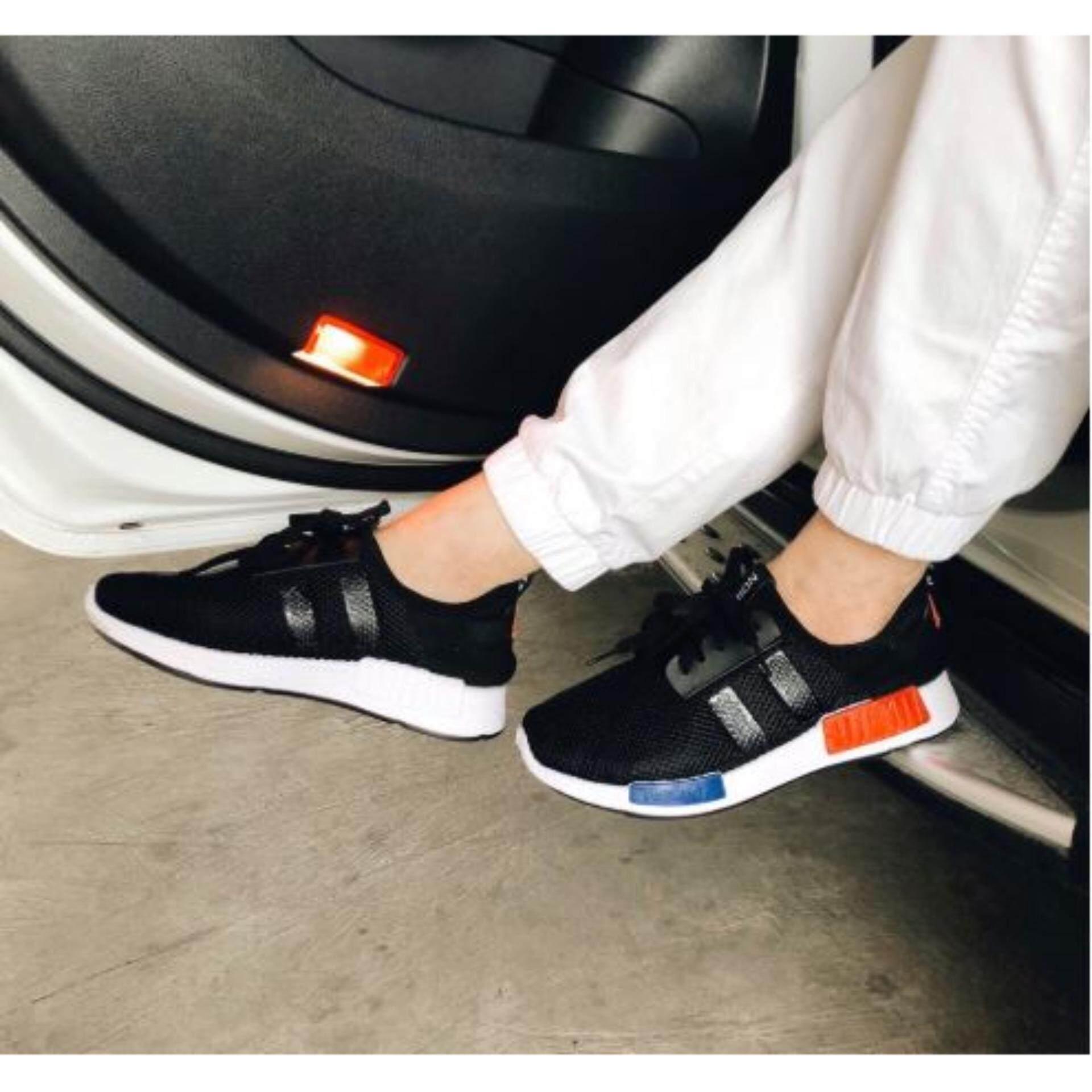 AVA รองเท้าผู้ชาย รองเท้าผ้าใบ รุ่น CM003 สีดำ