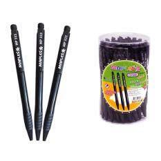 ซื้อ ปากกาลูกลื่น หมึกสีดำ 5Mm มีปลอกยาง รุ่น Mp 333Black แพค 50 แท่ง Maples เป็นต้นฉบับ