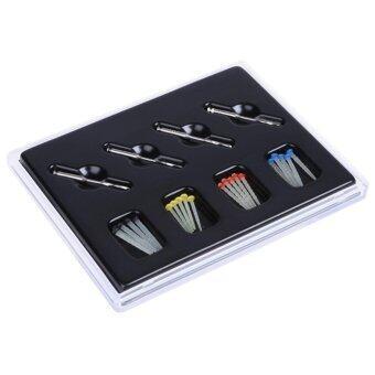 1 กล่องฟันใยตั้ง 20 ชิ้นไฟเบอร์และผลิตภัณฑ์ทันตแพทย์ 4 ฝึกซ้อม-นานาชาติ