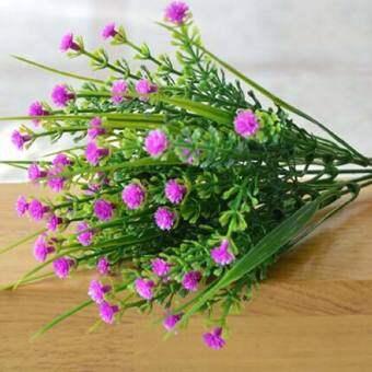 1 สาขาดอกไม้ประดิษฐ์จากไม้ประดิษฐ์ดอกไม้ประดิษฐ์จากไม้ดอกไม้ประดิษฐ์จากไม้ยูคาลิปตัสตกแต่งบ้านสีแดง-