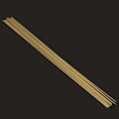 ขาย 10 40Pcs 1 6X250Mm Brass Rods Wires Sticks For Repair Welding Brazing Soldering Intl ออนไลน์ ใน จีน