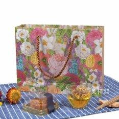 ซื้อ แพ็คละ 10 ใบ ถุงกระดาษพรีเมี่ยม ถุงลายดอกไม้ ถุงของขวัญ ถุงรับไหว้งานมงคล ถุงหิ้ว งานปาร์ตี้ งานแต่งงาน งานฝีมือ Afterflight เป็นต้นฉบับ