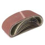 ขาย 10 Peck 3 X 21 80Grit Grinding Sanding Belt Alumina Oxide Sharpening Abrasive Intl Unbranded Generic ใน จีน