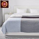 ซื้อ ผ้าฝ้าย 100 สำหรับคลุมเตียง ผ้าคลุมเตียง สีน้ำเงิน ลายตาหมากรุก 250X250 ซม ออนไลน์ ถูก