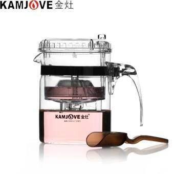 100% ของแท้ KAMJOVE TP-140 ศิลปะถ้วยชากาน้ำชา 300 มิลลิลิตรชาแก้วกาต้มน้ำกรองถ้วยเปิดอัตโนมัติชาชุด de Cha - นานาชาติ