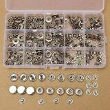 ซื้อ 100 Sets 15Mm Silver Snap Fasteners Popper Press Stud Button Leather Tool Kit Intl ออนไลน์ ถูก