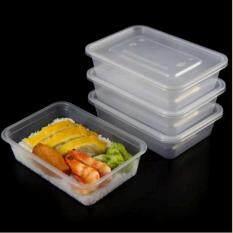 ราคา ตู้บรรจุอาหารพลาสติก 1000Ml 20 Pack สำหรับกล่องเก็บของที่สามารถนำกลับมาใช้ใหม่หรือทิ้ง ตู้ปลอดเชื้อ ไมโครเวฟ เครื่องล้างจานปลอดภัย ออนไลน์