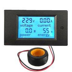 ขาย 100A Ac Digital Led Power Panel Meter Monitor Power Energynvoltmeter Ammeter Unbranded Generic เป็นต้นฉบับ