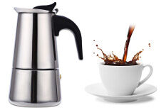 ขาย 100Ml Stainless Steel Mocha Coffee Pot Unbranded Generic ออนไลน์