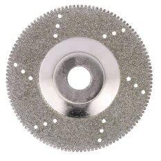 100Mm 4 Inch Diamond Coated Grinding Polishing Grind Disc Saw Blade 16Mm Inner Diameter Rotary Wheel Grit For Angle Grinder Intl ถูก