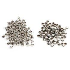 ขาย 100Sets 8 X 8Mm Double Cap Rivet Metal Leather Craft Repairs Studs Spike Decoration Silver Intl