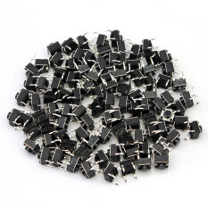 ราคา 100X Tactile Push Button Switch Tact Switch 6X6X5Mm 4 Pin Dip Through Hole New Intl ใหม่ ถูก