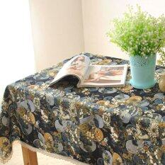 ขาย 100X140 Linen Tablecloth Fabric Table Cloth Tea Table Cloth Dirt Intl เป็นต้นฉบับ