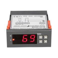 ซื้อ 10A 220 โวลต์มินิความชื้นแบบดิจิตอล Controller ช่วงการวัด 1 99 พร้อมเซนเซอร์ ใน จีน