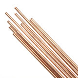 ขาย ซื้อ 10Pcs 1 6X330Mm Hscu Red Copper Solid Round Gas Bronze Rod For Riveting Cutting Intl