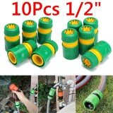 ซื้อ 10Pcs 1 2 Garden Tap Water Hose Pipe Connector Quick Connect Adapter Fitting Watering Wo Intl ถูก จีน