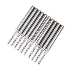 ขาย 10Pcs Cutter Carbide Pcb End Mill 1 5 Mm ออนไลน์ ใน จีน