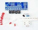 ซื้อ 10Pcs Ne555 Cd4017 Light Water Flowing Light Led Module Diy Kit Intl ใหม่