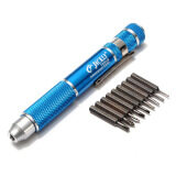 ราคา 10Pcs Precision Screwdriver Bit Set Torx Star Phillips Repair Tool Kit Pc Phone ใหม่