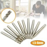 ราคา 10Pcs Set 1 5 6Mm Hss Cnc Straight Shank 4 Flute End Mill Cutter Drill Bit Tool Intl เป็นต้นฉบับ Unbranded Generic