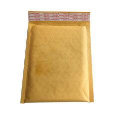 ซื้อ 10X Kraft Bubble Bag Padded Envelopes Mailers Shipping Yellow Bags Intl จีน