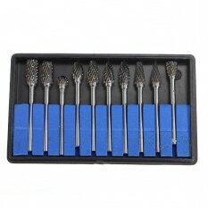 ขาย 10X Tungsten Carbide Cutter Rotary Burr Set Cnc Engraving Bit Tool Ced 6Mm 1 8 ใน สมุทรปราการ