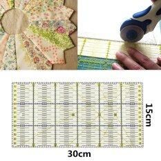 11.8 X 5.9 30 เซนติเมตรอะคริลิคใสไม้บรรทัดงานเย็บผ้า Patchwork เครื่องมือตัดเย็บ Diy หัตถกรรม - Intl By Qiaosha.
