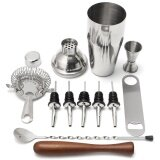 ส่วนลด 11Pcs 700Ml Stainless Steel Cocktail Jigger Mixer Bar Drink Shaker Bartender Set Intl Unbranded Generic ใน จีน