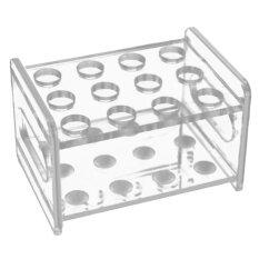 12 ช่องอะคริลิคแข็งแรงทดสอบหลอดถ้วยผู้ถือตู้แร็คสำหรับห้องจัดแสดงนิทรรศการห้องปฏิบัติการ Ktv - นานาชาติ By Stoneky.