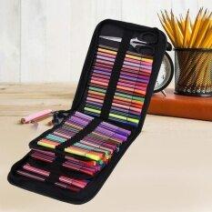 ราคา 120 Slots Large Capacity Water Color Pen Case Pencil Pouch Storage Bag Intl ออนไลน์
