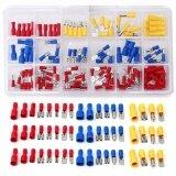ราคา ราคาถูกที่สุด 120Pcs Assorted Insulated Electrical Wire Terminal Crimp Connector Spade Set Kit Intl