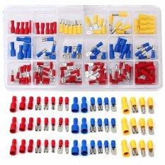 ขาย 120Pcs Assorted Insulated Electrical Wire Terminal Crimp Connector Spade Set Kit Intl Unbranded Generic ผู้ค้าส่ง