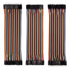 ส่วนลด 120Pcs Multicolored Dupont Wire Kit 40Pin Male To Female 40Pin Male To Male 40Pin Female To Female Breadboard Jumper Wires Ribbon Cables Kit For Arduino Diy Raspberry Pi 2 3 Intl Unbranded Generic จีน