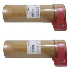 (12ม้วน+ที่ตัด2ชิ้น) เทปปิดกล่อง 305 สีแทน 48มมx40เมตร + 305 Tartan Box Sealing Tape / Tan 48mmx40m (12rls+2dispenser) By Intech Premier.