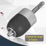 โปรโมชั่น 1 2 3 Jaw 2 13Mm Metal Keyless Impact Sds Hammer Drill Chuck Hand Tool Set Intl ใน แองโกลา