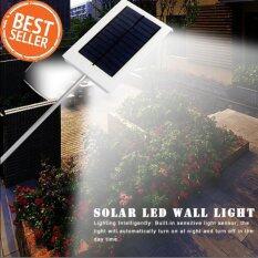 โปรโมชั่น 12Led Solar Powered Lights Outdoor Wall Lights ไฟภายนอกอาคาร ขาว กรุงเทพมหานคร