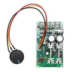ซื้อ 12V 24V 36V 48V 60V 1200W 20A Pwm Fan Controller Dc Motor Speed Control Intl Vakind ถูก