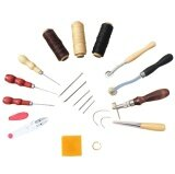 14 Pcs Leather Craft Hand Including Stitching Groover Basic Hand Stitching Sewing Tool Set Saddle Groover Leather Craft Diy Tool Intl ใน จีน