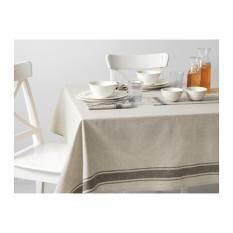 ทบทวน ผ้าปูโต๊ะ เบจ ขนาด 145X145 ซม