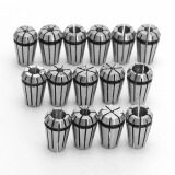 ทบทวน 15Pcs Er11 Spring Collet Set For Cnc Engraving Machine Milling Lathe Tool Diy Intl