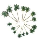 15Pcs Scenery Model Coconut Palm Trees Ho O N Z Scale Intl ใน จีน
