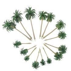 โปรโมชั่น 15Pcs Scenery Model Coconut Palm Trees Ho O N Z Scale Intl ถูก