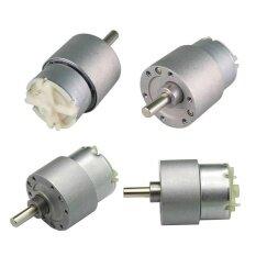 ขาย ซื้อ 15Rpm 250 N Cm 37Mm 12V High Torque Gearbox Powerful Motor 12V Electric Motor Intl