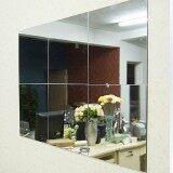 ขาย 16Pcs Bathroom Square Removeable Self Adhesi Ve Mosaic Tiles Mirror Wall S Tickers Home Decor Intl ออนไลน์ ใน แองโกลา