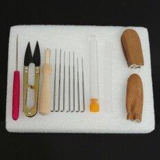 ส่วนลด 16Pcs Set Needle Felting Starter Kit Wool Felt Tools Mat Needle Accessories Intl Unbranded Generic แองโกลา